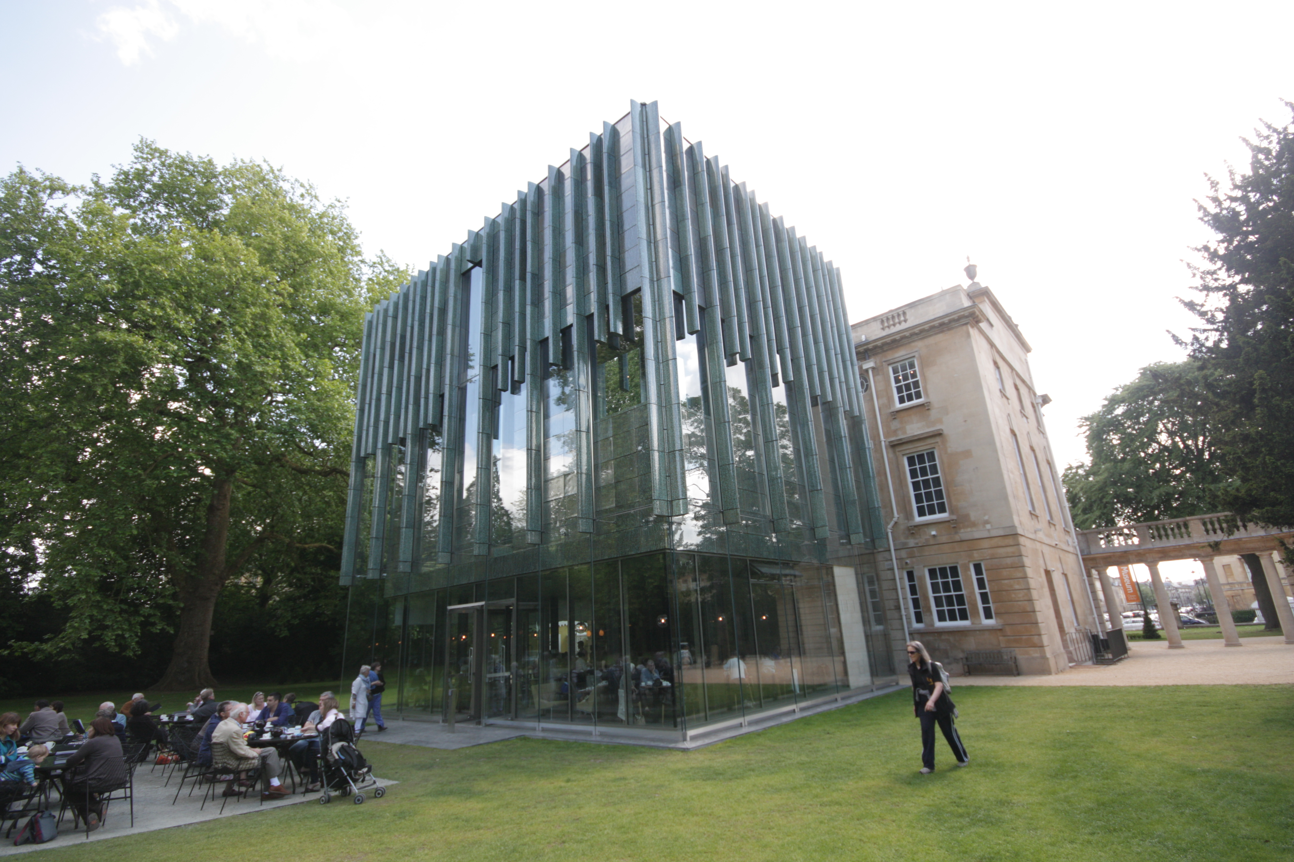 Modern Architecture City holburne art museum shows that modern architecture is possible in