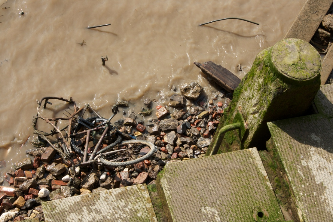 North Bank of the Thames betrays its origins