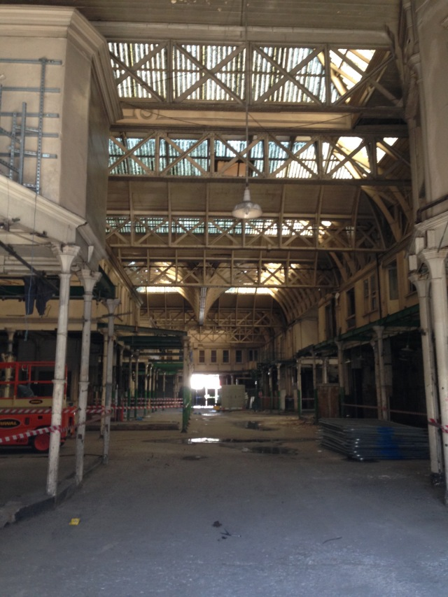 The Central Market, likely now to be turned into a new Museum of London
