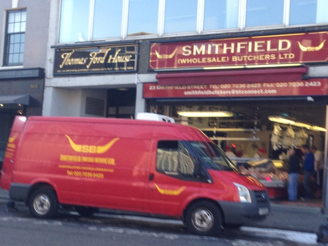 The only retail butcher in Smithfield
