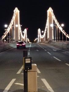 Crossing the Albert Bridge